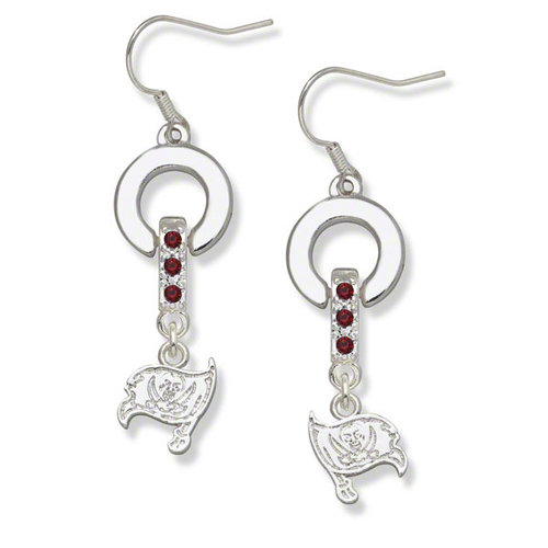 NFL - Tampa Bay Buccaneers MVP Crystal Earrings