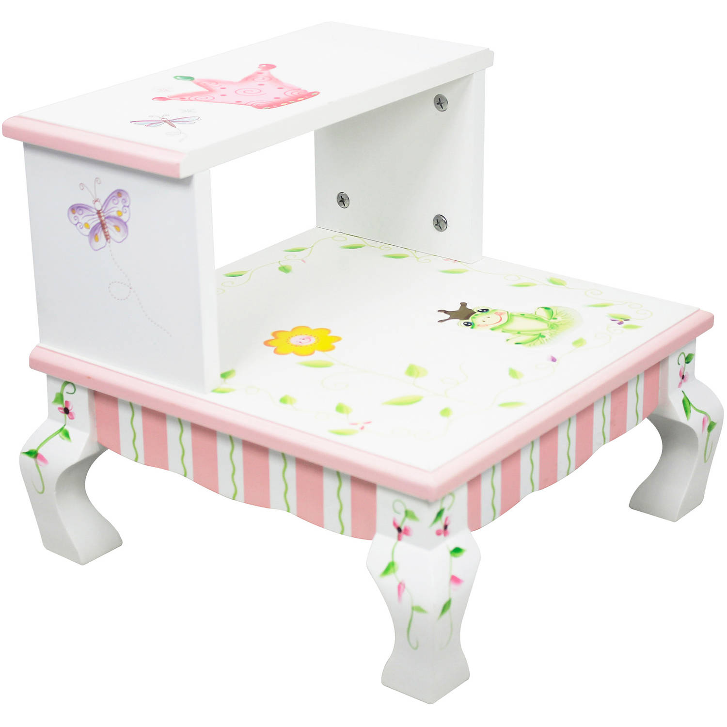 Fantasy Fields Princess and Frog Step Stool