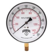 "WINTERS 2-1/2"" Lead Free Pressure Gauge,  0 to 100 psi PFQ804LF"