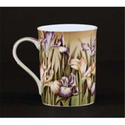 Euland China FL0-007I Set Of Two 12-Ounce Mugs - Iris