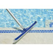 Poolmaster Classic Collection 18-Inch Vinyl Liner Swimming Pool & Spa Cleaning Brush with Bumper