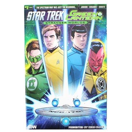 Star Trek & Green Lantern Stanger Worlds Comic Book Issue # 1
