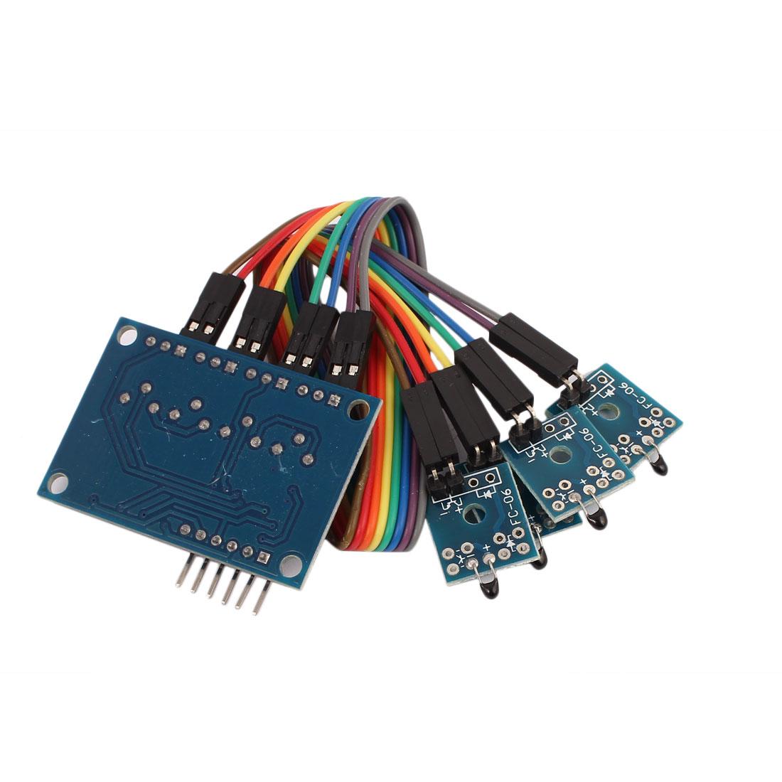 Hall Sensor  4-Way Switch Speed Counting Module - image 1 de 3