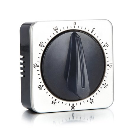 kitchen timer loud alarm sound with magnet 60 minutes countdown