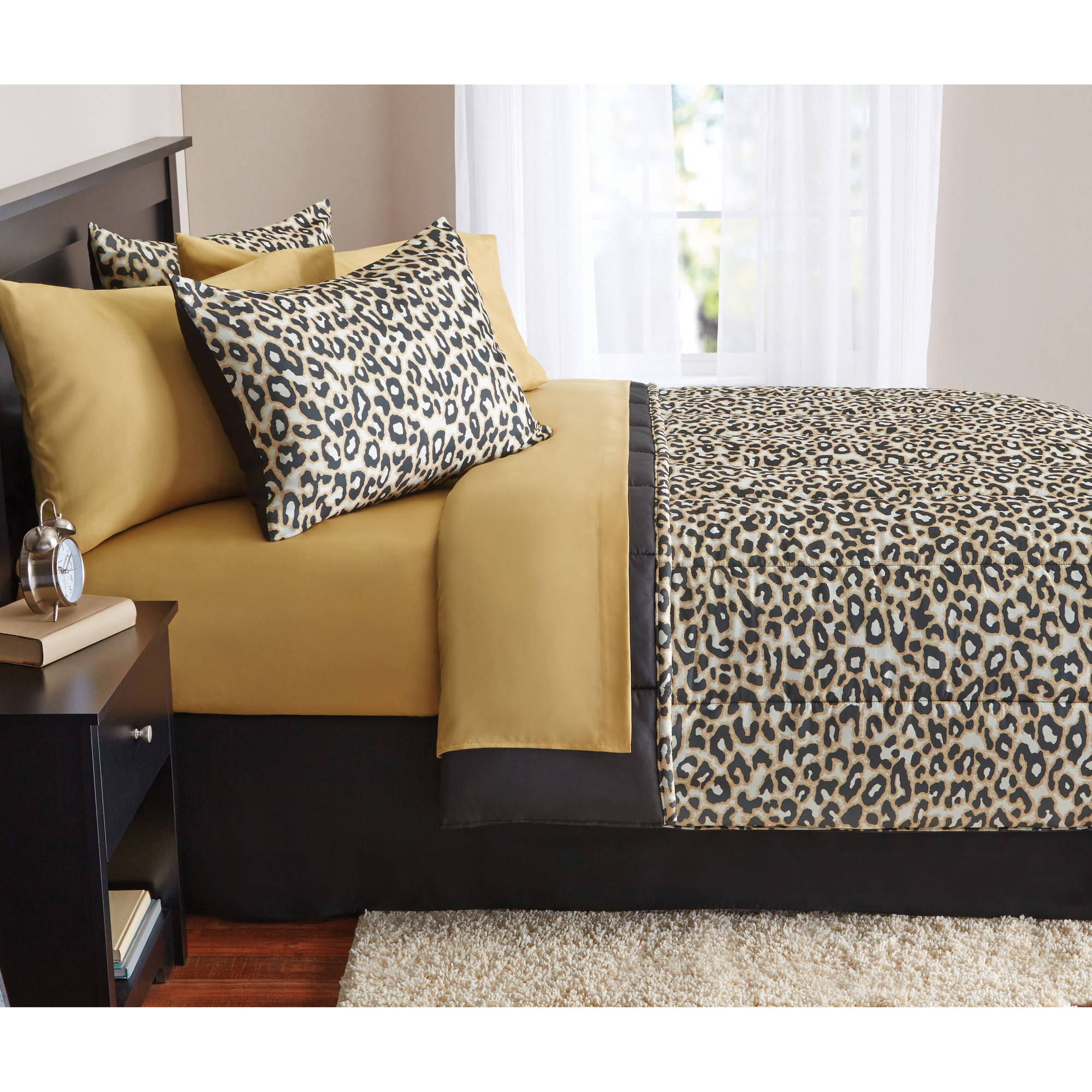 Mainstays Bed-in-a-Bag Complete Animal Bedding Set