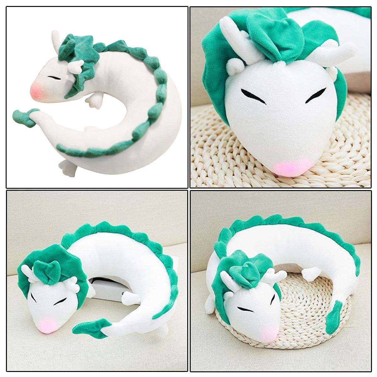 Pet Pillow Anime Spirited Away White Dragon Haku Cute Doll Stuffed Animal Plush Toy Anime Pillow Soft Pillow Neck U Shape Walmart Com Walmart Com