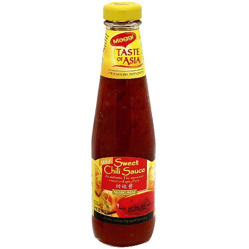 Maggi Taste Of Asia Mild Sweet Chili Sauce 10 1 Oz Pack Of 6 Walmart Com Walmart Com