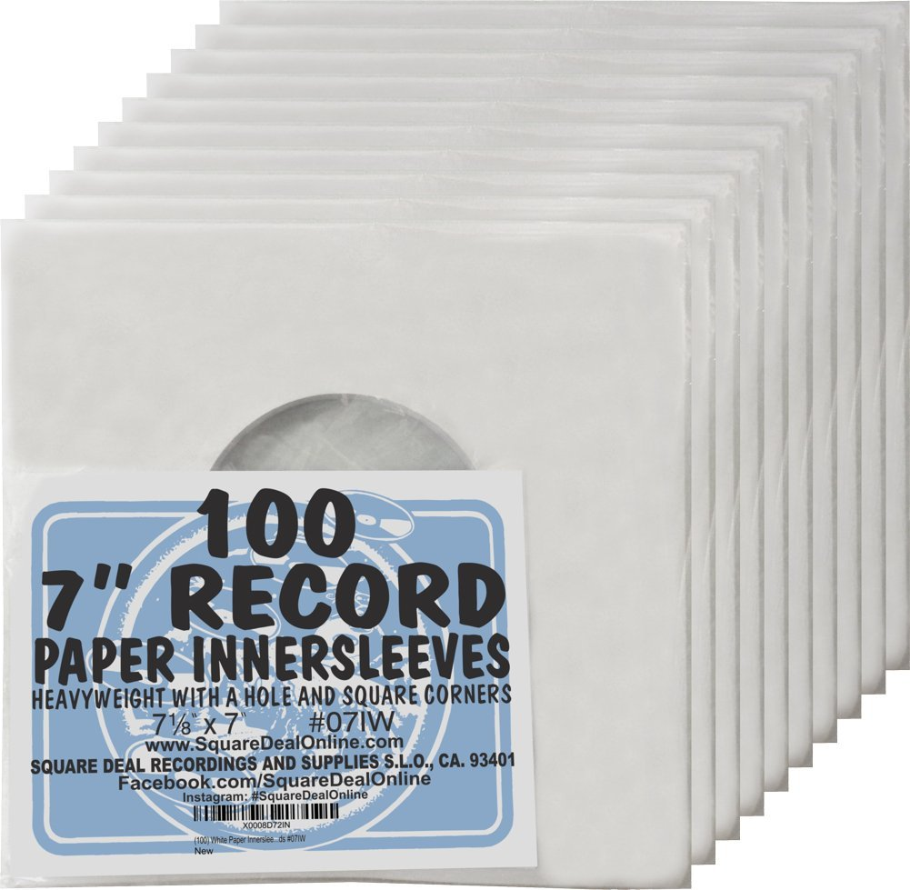 (1,000) Archival Quality Acid-Free Heavyweight Paper Inne...