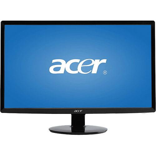 """Acer Refurbished 23"""" LED Widescreen Monitor (S231HL Black)"""