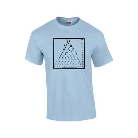Trenz Shirt Company Vape Religion Clothing Co Eye Chart T Shirt