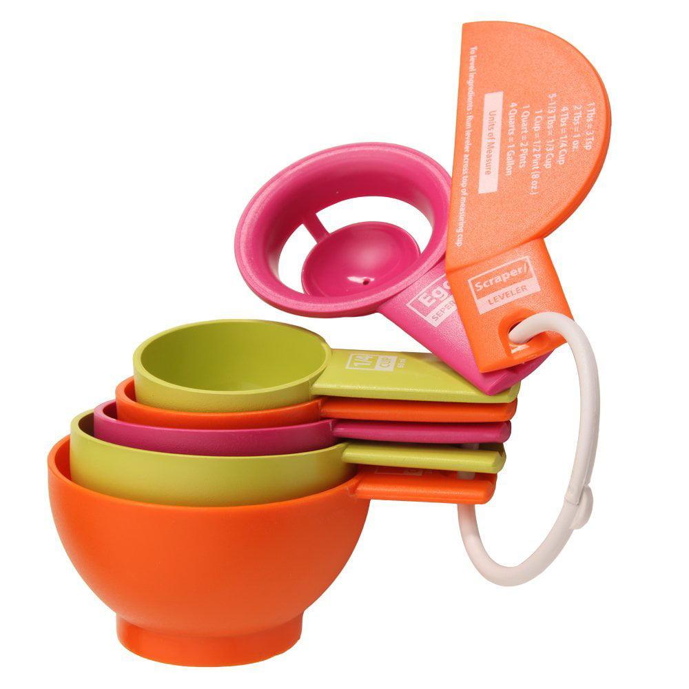 Seven-Piece Multicolor Measuring Cup Set VICTORIO VKP1207