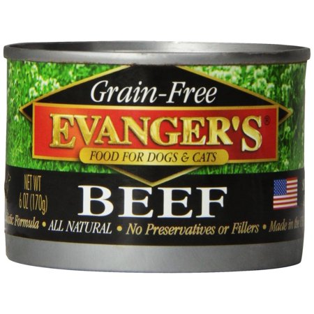 Evangers 100% Chicken - EVANGER'S 776275 24-Pack Grain Free 100-Percent Chicken for Dogs and Cats 6-Ounce