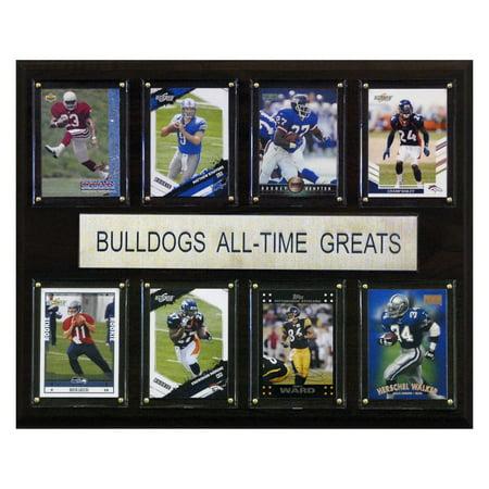 C&I Collectables NCAA Football 12x15 Georgia Bulldogs All-Time Greats Plaque (Georgia Bedroom)