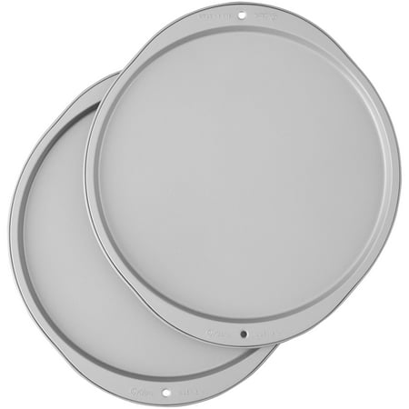 12' Aluminum Pizza (Wilton Recipe Right Pizza Pan Set of 2, 12 in.)