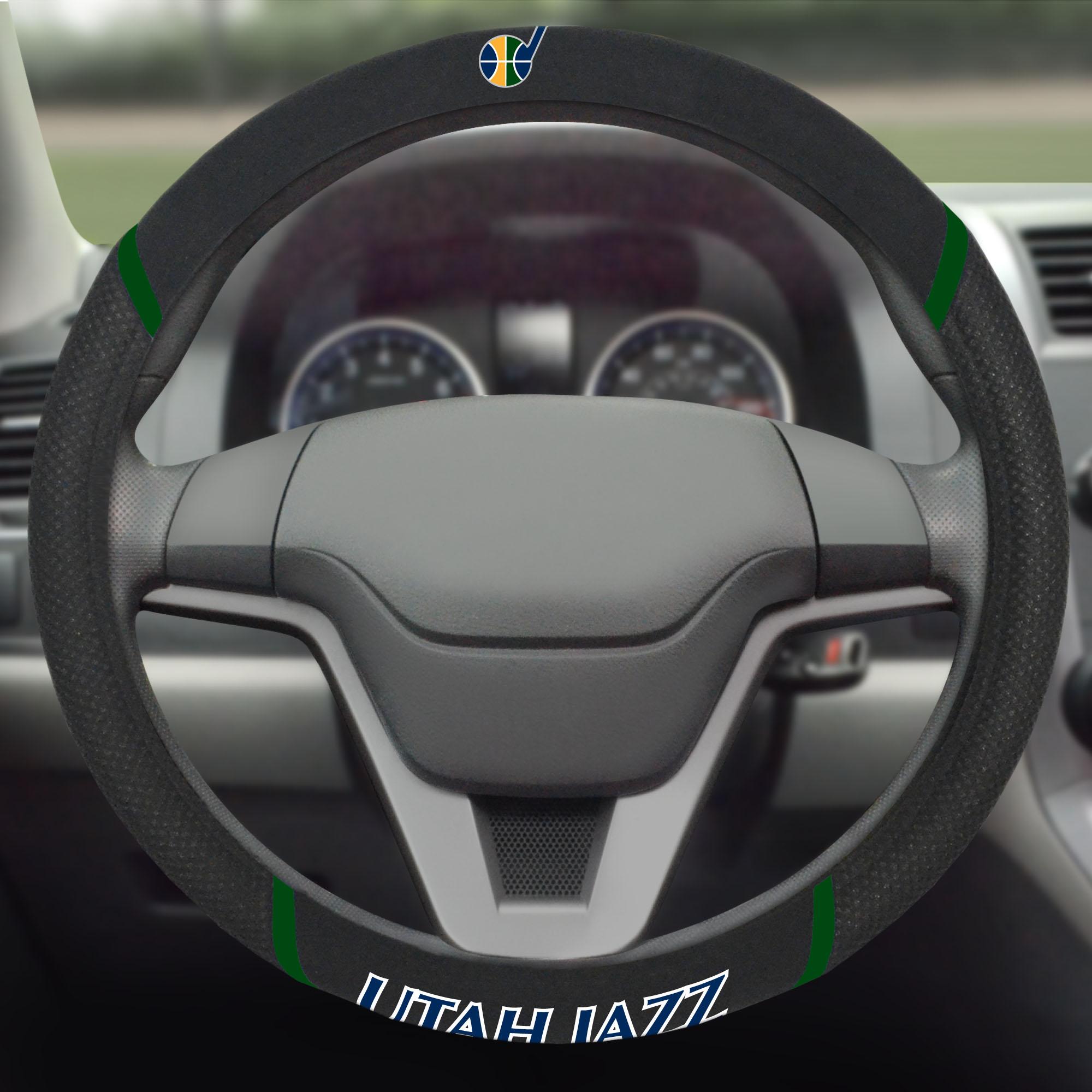 Utah Jazz Steering Wheel Cover - No Size