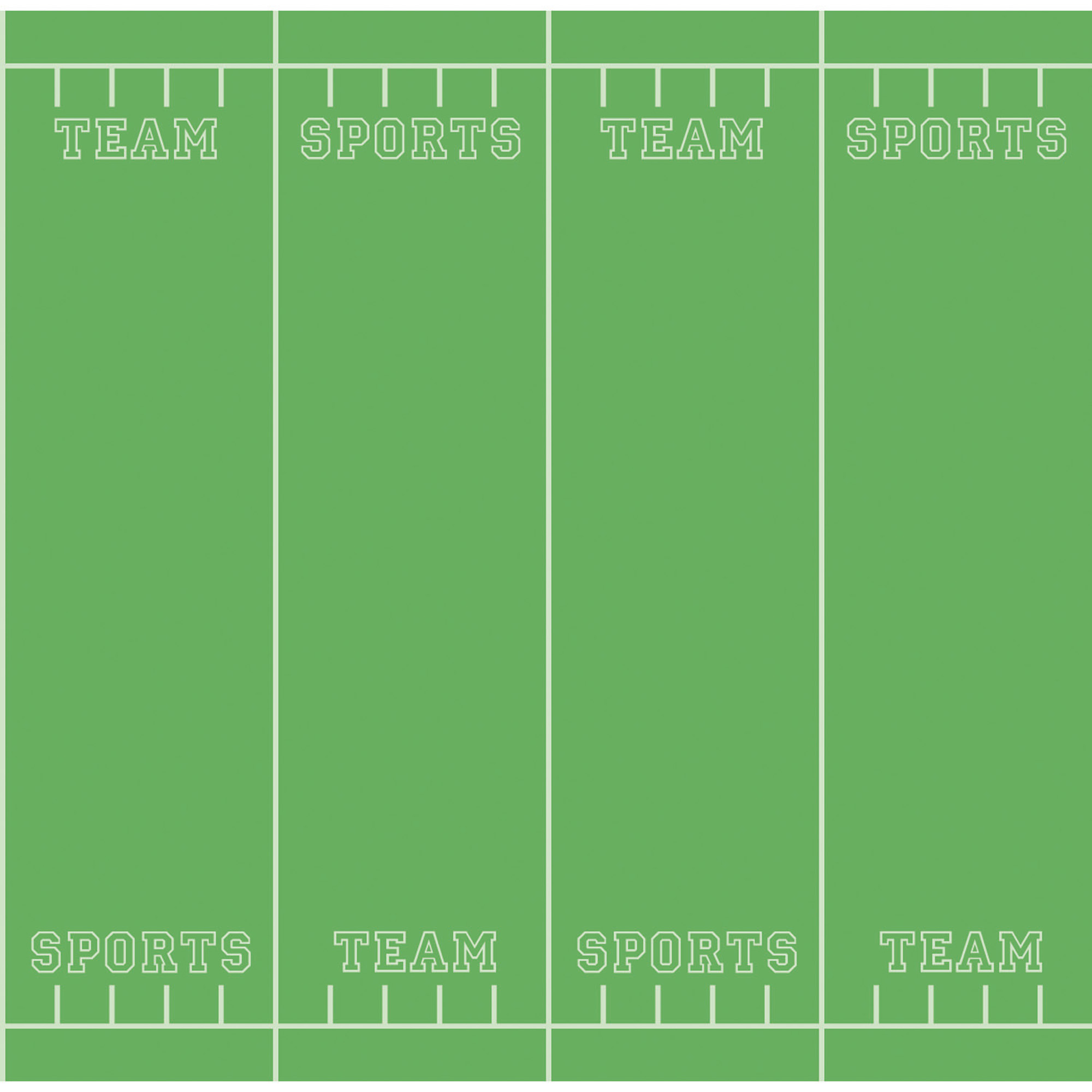 "Pacon® Fadeless® Paper Roll, 48"" x 12', Team Sports, 4 Rolls"