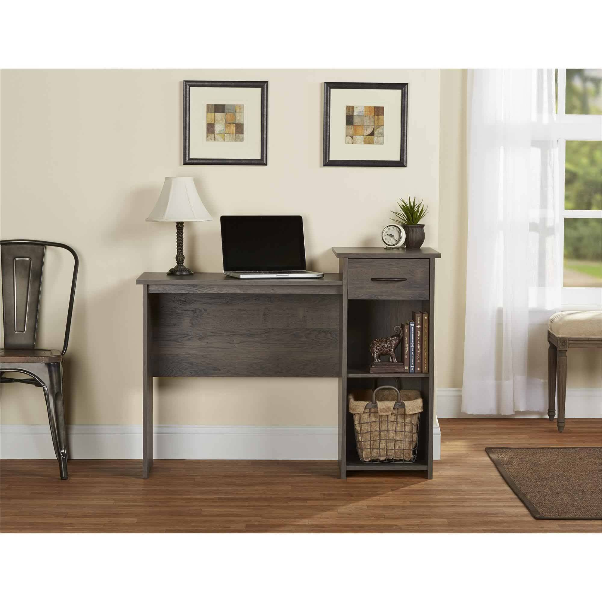 Computer Student Desk Office Table Furniture Kids Home Drawer Study Rodeo Oak Ebay