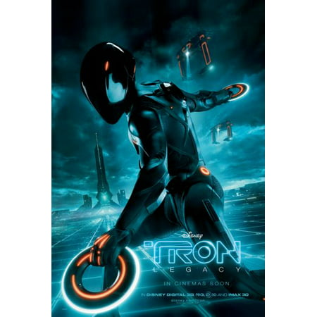 Tron Legacy Movie Poster #A02 Metal Sign 8in x (Legato Metal)
