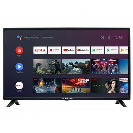 "Sceptre 32"" Class HD (720p) Android Smart LED TV with Google Assistant (A322BV-SR)"