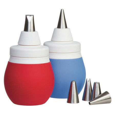 Food Network 8-Piece Frosting Bulb Cake Decorating Tips Tool Kit - Halloween Wars Cakes Food Network