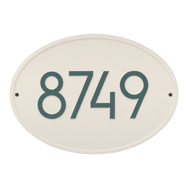 Hawthorne Modern Personalized Wall Plaque