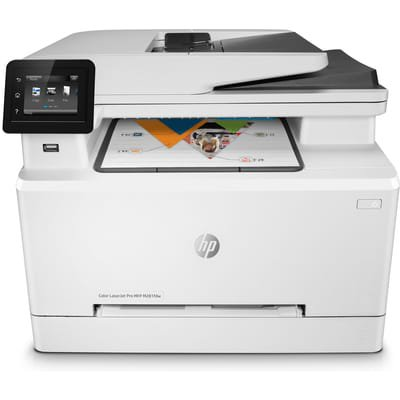 - HP Color LaserJet Pro MFP M281fdw Multifunction Laser Printer, Copy/Fax/Print/Scan