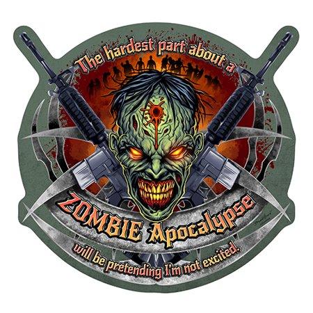 Zombie Apocalypse [3 Pack] of Vinyl Decal Stickers | 5