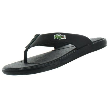 Lacoste Flip Leather Sandals Flops Men's L30 k0nP8Ow