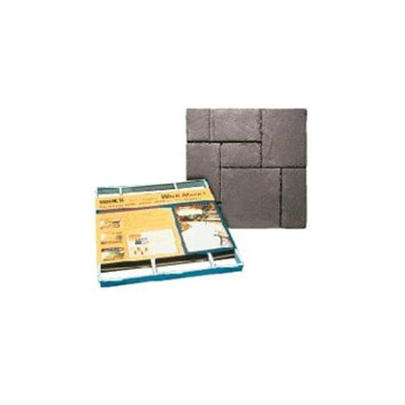 Quikrete Walk Maker 6921-34 Building Form, 80 lb Weight Capacity, 2 ft L Block, 2 ft W Block, (Quikrete 80 Lb Premixed Finish Coat Stucco Mix)