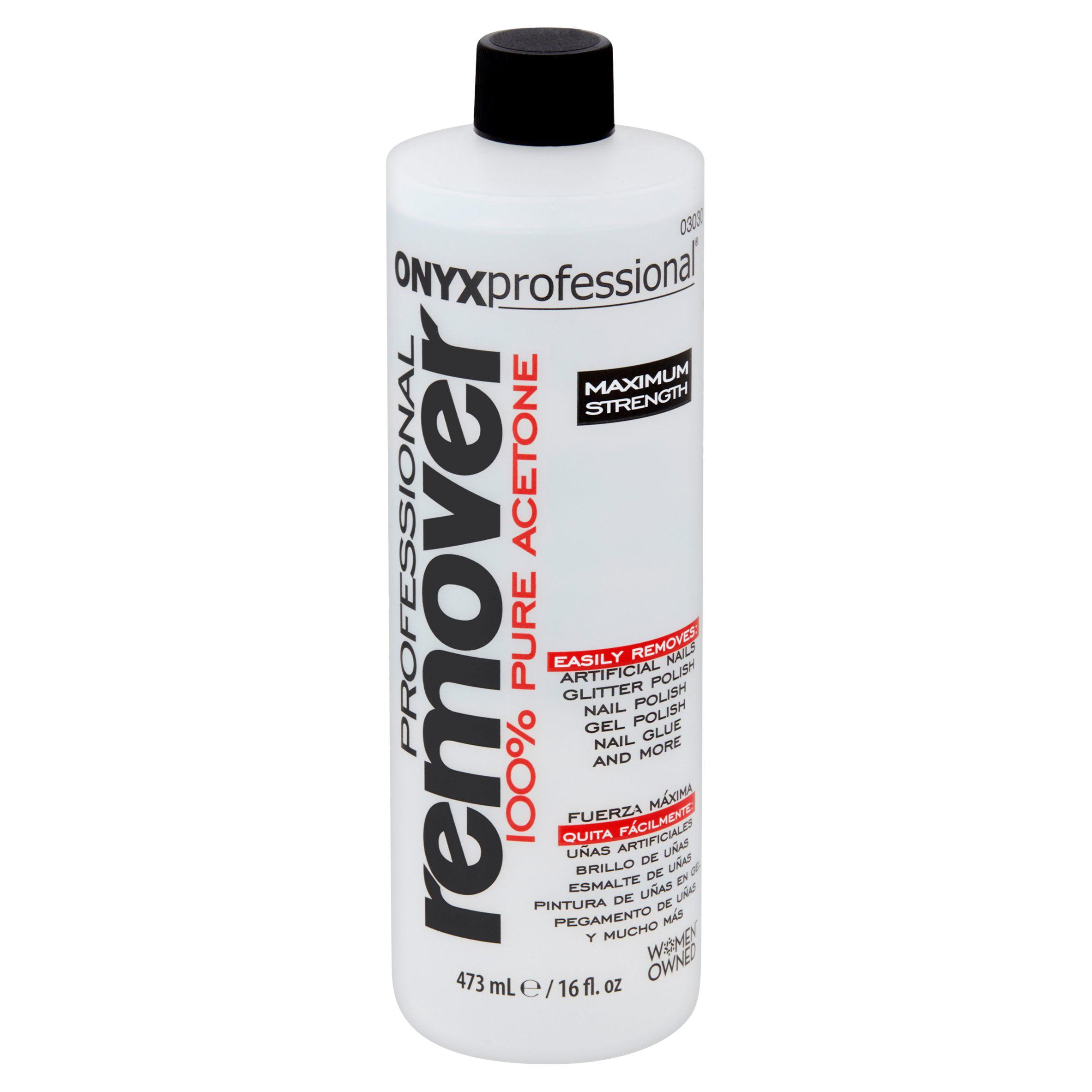 ONYX Professional 100% pure acetone nail polish remover - Walmart.com