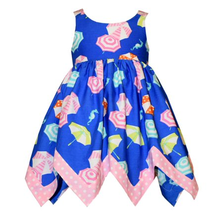 Bonnie Jean Baby Girls Beach Umbrella Sundress 24