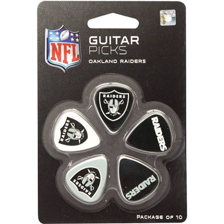 Woodrow Guitar Picks, Oakland Raiders (Oakland Raiders Guitar Picks)