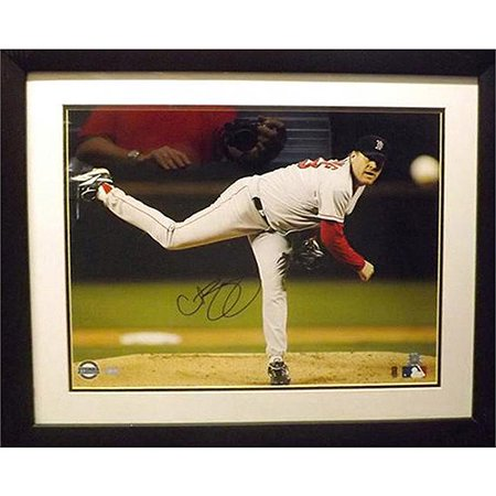 MLB 20x24 Autographed Frame, Curt Schilling Boston Red