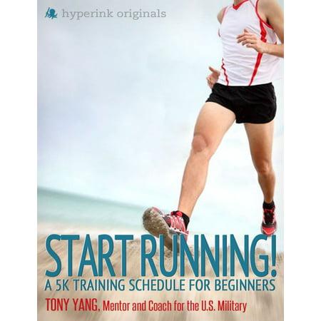 Start Running! A 5k Training Schedule for Beginners -