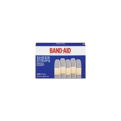 Johnson & Johnson Johnson & Johnson Band-Aid, Brand Adhesive Bandages, . 75 inch, 100-BX