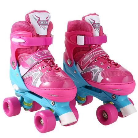 Double Row Inline Skates for Boys&Girl,Fashionable Kids Inline Skates for Indoor and Outdoor Fun
