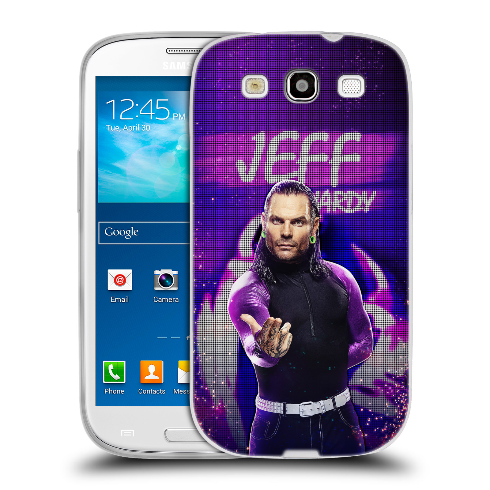 OFFICIAL WWE JEFF HARDY SOFT GEL CASE FOR SAMSUNG PHONES 3
