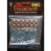 Trollblood Primal Faction Tokens Hordes Miniature Game Privateer Press (Faction Tokens)