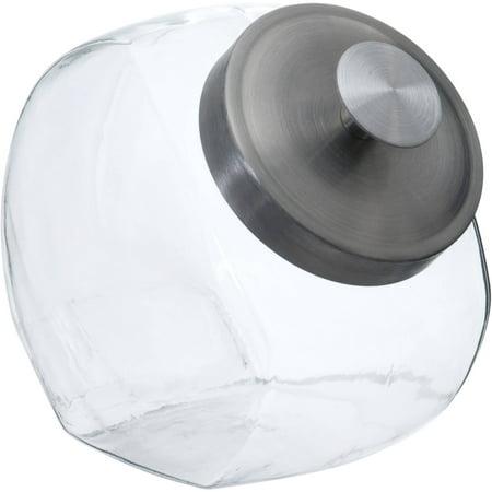 1/2-Gallon Candy Jar, Silver