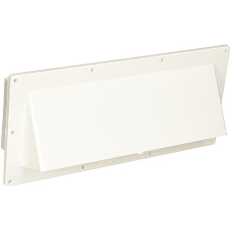 Polar White Horizontal Exterior Wall Vent V2111-13 Ventline