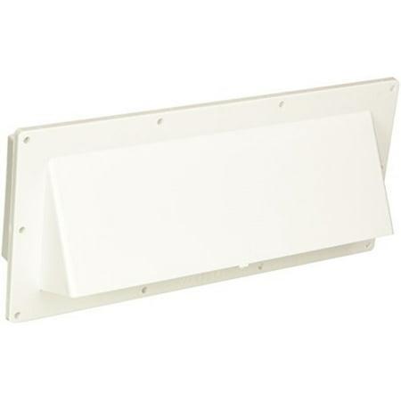 Ventline V2111 13 Polar White Horizontal Exterior Wall Vent