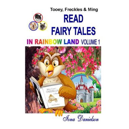 Tooey, Freckles & Ming Read Fairy Tales in Rainbow Land Volume (Best Products To Cover Freckles)