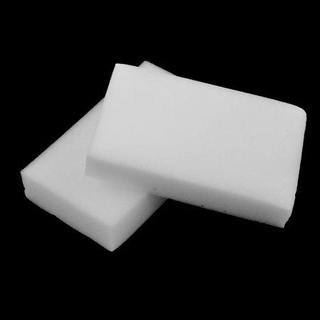 2Pcs White Rectangle Shaped Nano Multipurpose Car Body Washing Cleaning Sponge