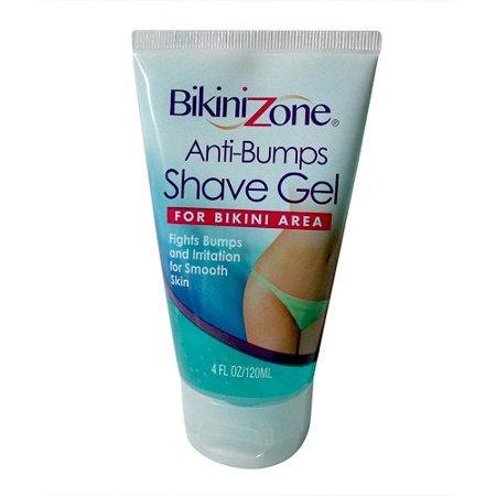 Anti- Bumps Shave Gel for Bikini Area Smooth Skin 4 oz 2 Pack by Bikini Zone