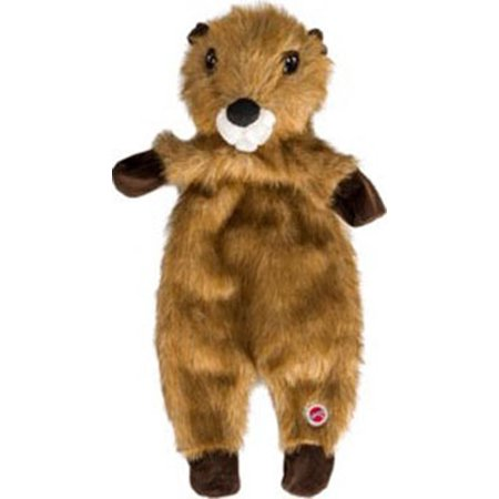 Ethical Products Plush (Ethical Dog-Plush Furzz Beaver- Brown 13.5in )
