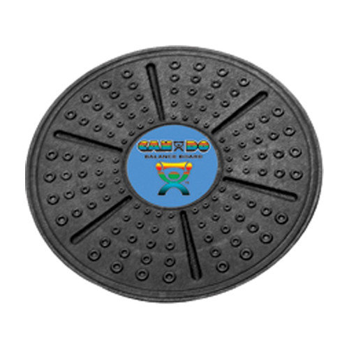 CanDo Professional Balance Board Wobble Rocker Board