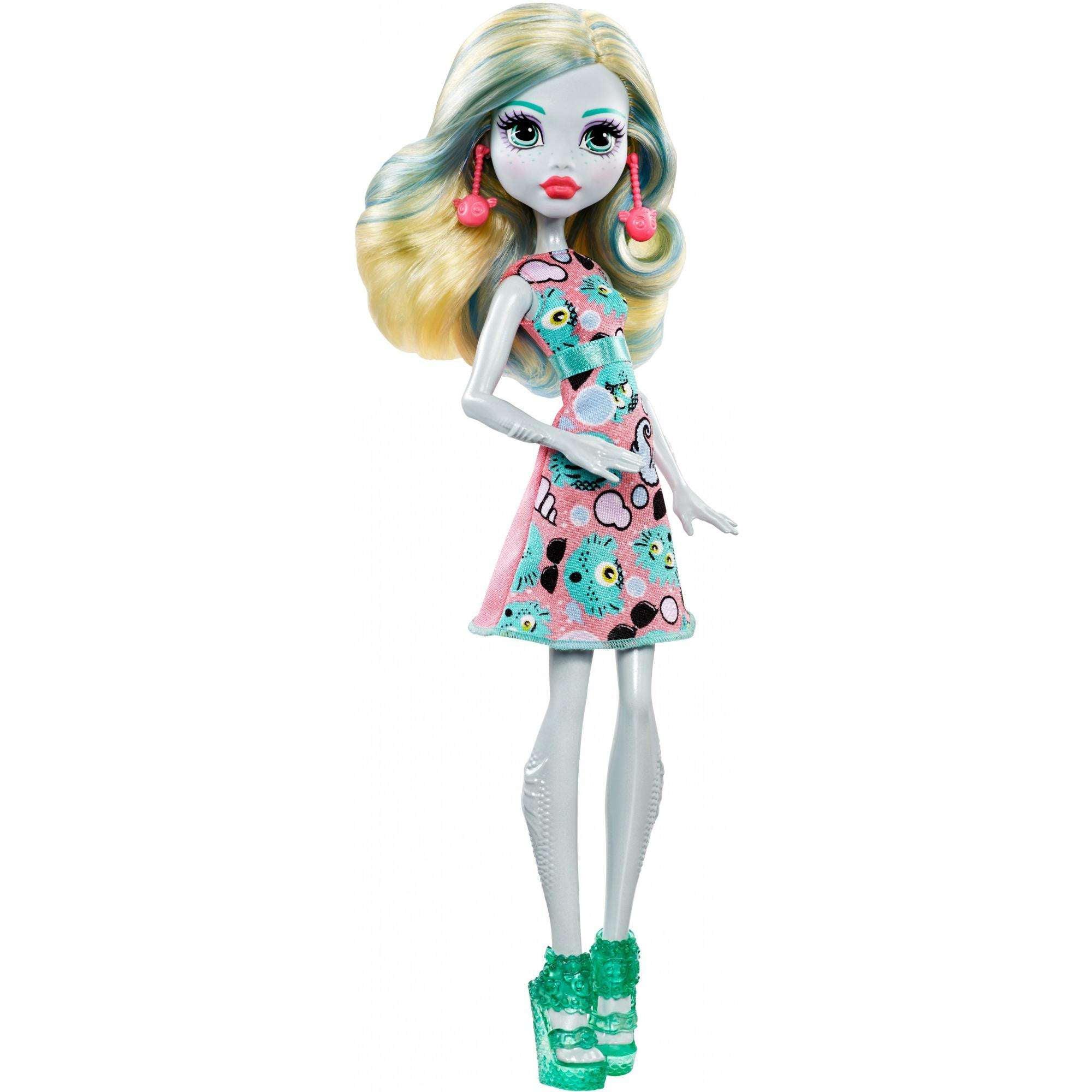Monster High Emoji Lagoona Blue Doll by Mattel