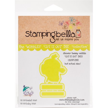 Stamping Bella Cut It Out Dies-Shower Bunny Wobble