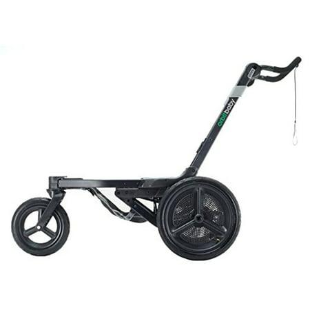 Orbit Baby O2 Hybrid Jogging Folding Baby Stroller Base with 360 Rotating SmartHub
