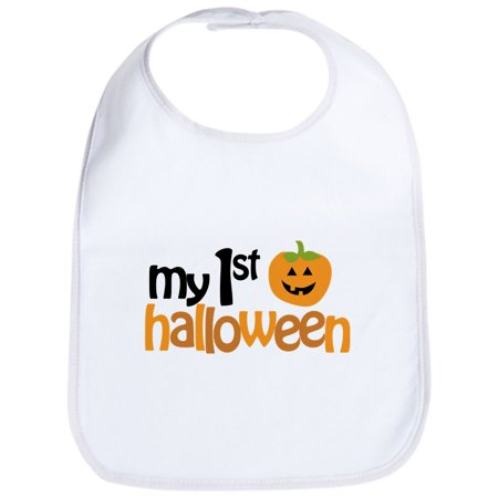 CafePress - My 1St Halloween Bib - Cute Cloth Baby Bib, Toddler Bib](Baby First Halloween)